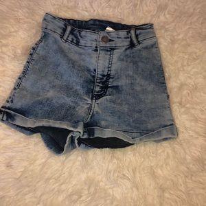 divided shorts!